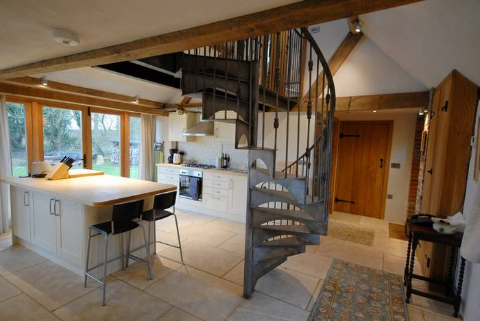 Interior of Ox House holiday cottage, Brill, Buckinghamshire near Oxford1