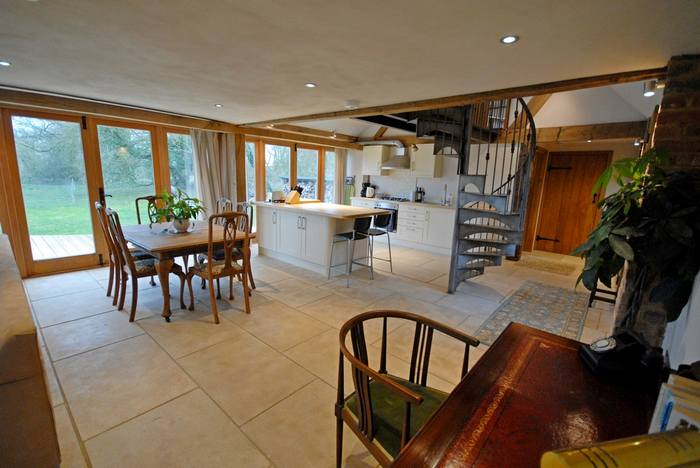 Interior of Ox House holiday cottage, Brill, Buckinghamshire near Oxford2