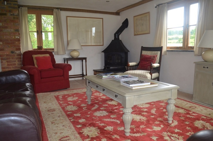 Interior of Ox House holiday cottage, Brill, Buckinghamshire near Oxford3