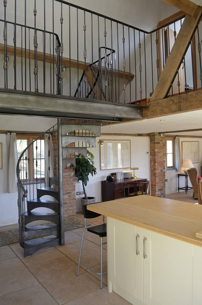 Interior of Ox House holiday cottage, Brill, Buckinghamshire near Oxford5